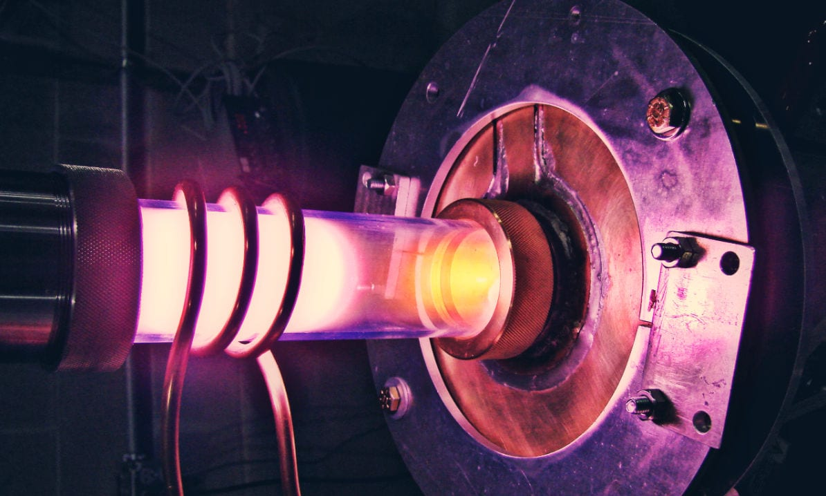 The ion beam used in Phoenix's neutron generators to create fusion neutrons