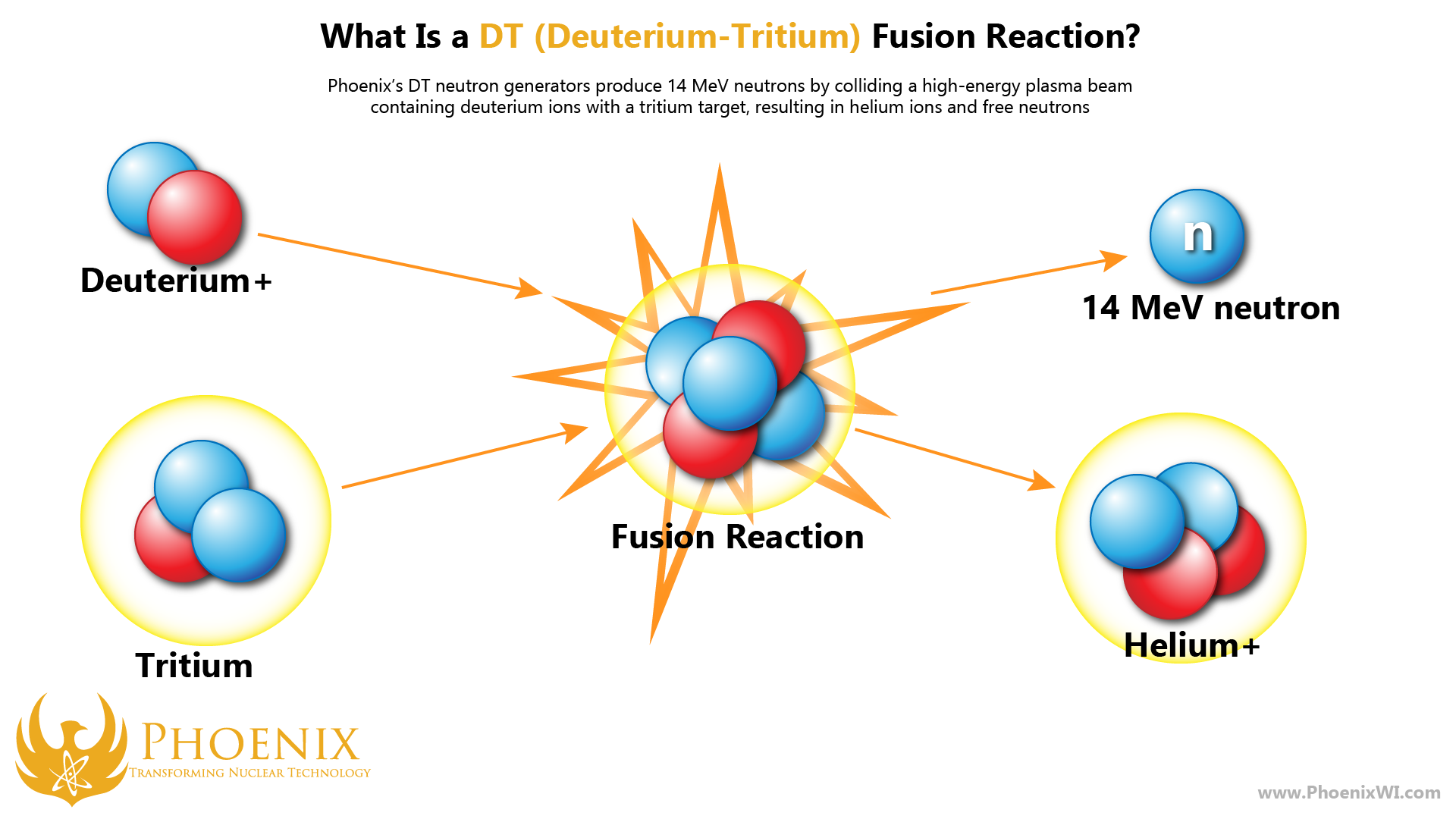 Phoenix's DT fusion reaction