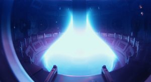 Superheated plasma in a tokamak