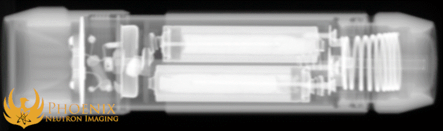 X-Ray Image: Flashlight