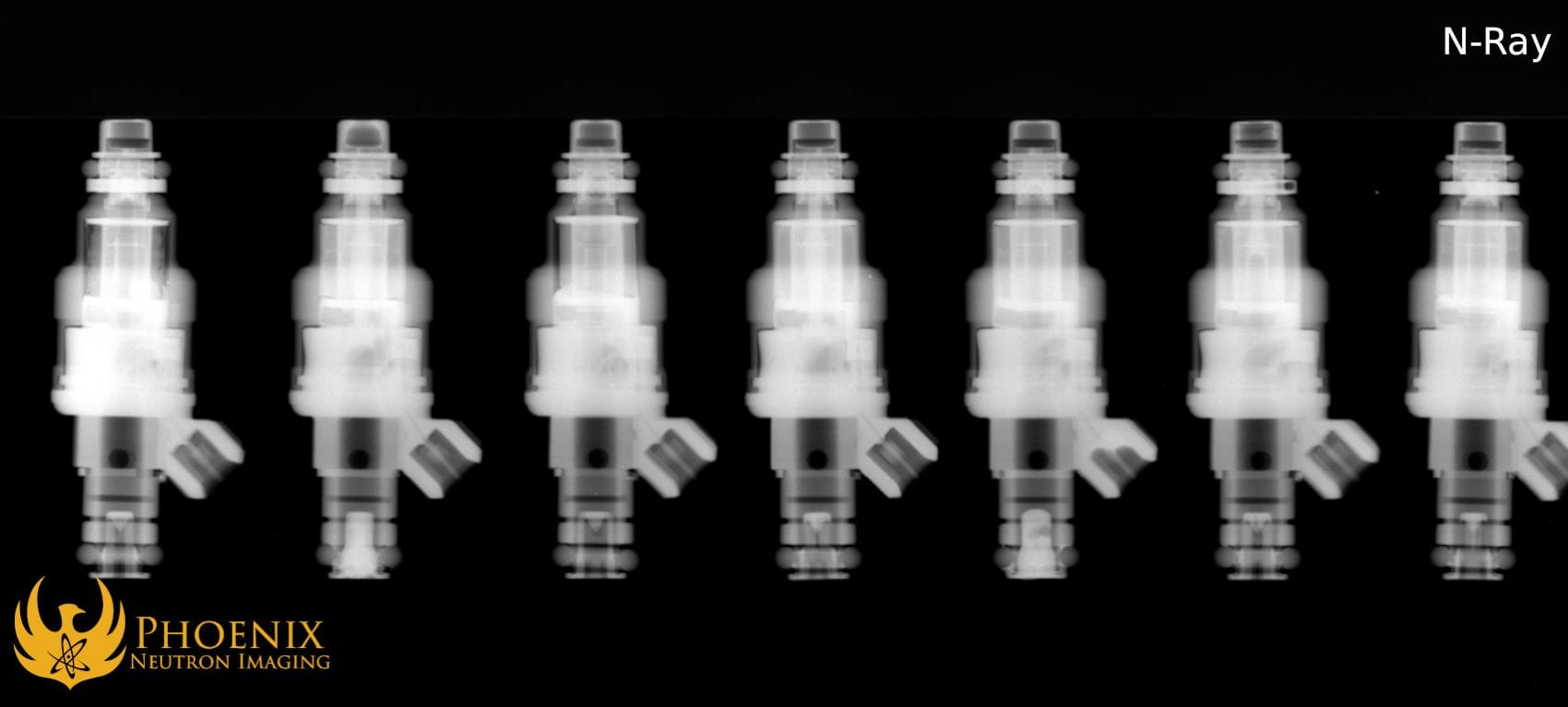 Neutron Image: Fuel Injectors