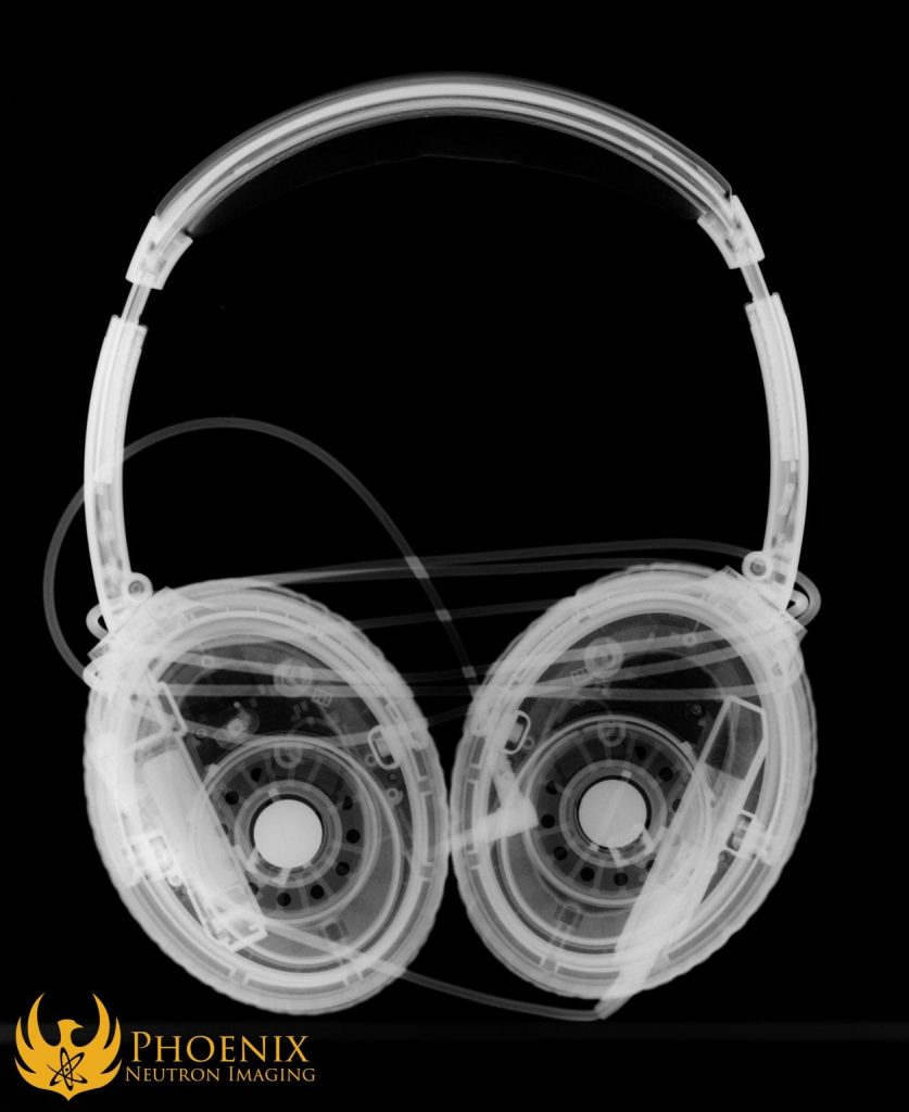 Neutron Image: Headphones