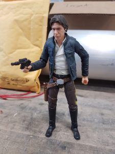 The Han Solo action figure used in our neutron imaging experiment