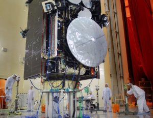AEHF communications satellite launched in 2010